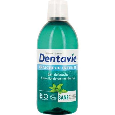 Bain de bouche fraîcheur intense à l'Aloe Vera et eau florale de menthe bio - Dentavie - Hygiene