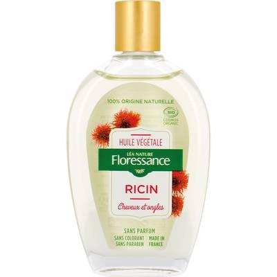 Huile végétale ricin - Cheveux et ongles - Floressance - Corps - Cheveux - Massage et détente