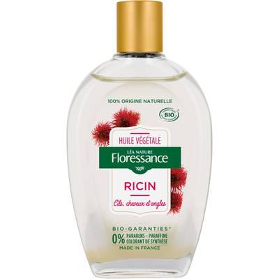 Huile végétale ricin - Cheveux et ongles - Floressance - Cheveux - Massage et détente - Corps