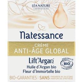 Global anti-aging cream - Lift'Argan - Natessance - Face