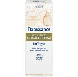 Global anti-aging light cream - Lift'Argan - Natessance - Face