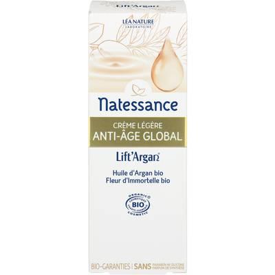 La crème légère anti-âge global - Lift'Argan - Natessance - Visage