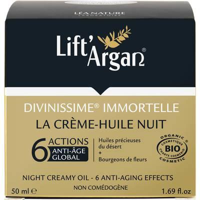 La crème huile nuit - Divinissime Immortelle - Lift'Argan - Visage