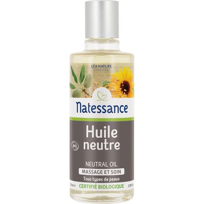Neutral oil - Natessance - Face - Hair - Massage and relaxation - Body