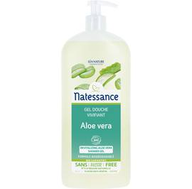 Revitalizing aloe vera shower gel - Natessance - Hygiene