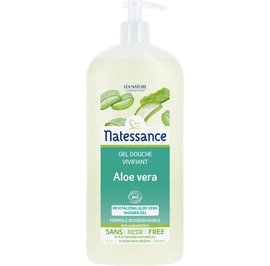 Revitalizing aloe vera shower gel - Natessance - Hygiene