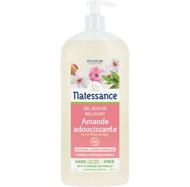 Softening almond shower gel - Natessance - Hygiene