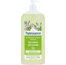 Lemon verbena invigorating hair and body wash - Natessance - Hygiene - Hair
