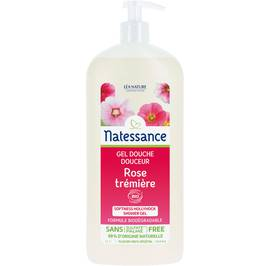 Softness hollyhock shower gel - Natessance - Hygiene
