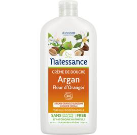 Argan orange blossom shower cream - Natessance - Hygiene