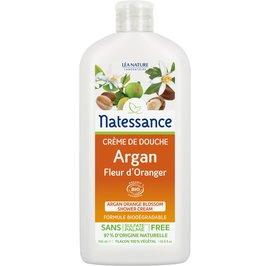 Argan orange blossom shower cream - Natessance - Hygiene
