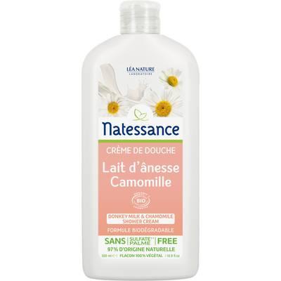 Crème de douche lait d'anesse camomille - Natessance - Hygiène