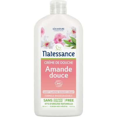 Crème de douche amande douce - Natessance - Hygiène