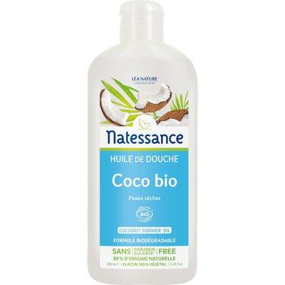 Coconut shower gel - Natessance - Hygiene