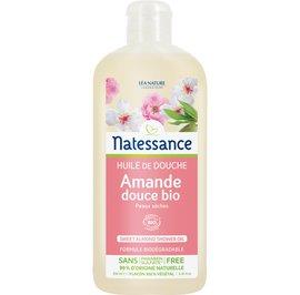 Sweet almond shower oil - Natessance - Hygiene