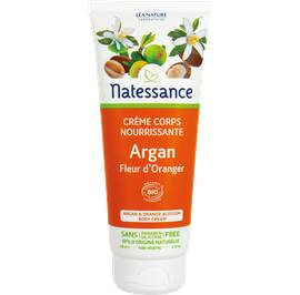 Argan & orange blossom body cream - Natessance - Body