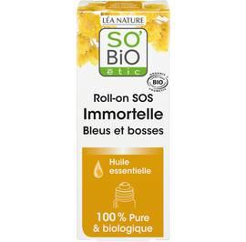 Roll-on SOS Immortelle - Bleus et bosses - So'bio étic - Santé