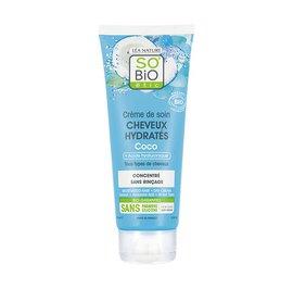 Moisturized hair - Day cream - Coconut & Hyaluronic acid - So'bio étic - Hair