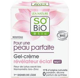 Radiance revealing gel-cream night - Pour une peau parfaite - So'bio étic - Face