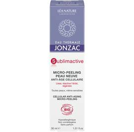 Cellular anti-aging micro-peeling - Sublimactive - Eau Thermale Jonzac - Face