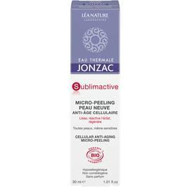 Micro-peeling peau neuve anti-âge cellulaire - Sublimactive - Eau Thermale Jonzac - Visage