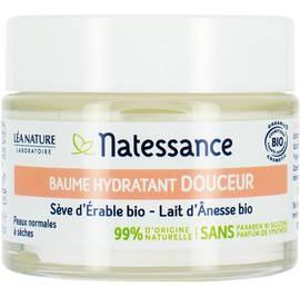 Baume hydratant - douceur - Natessance - Visage