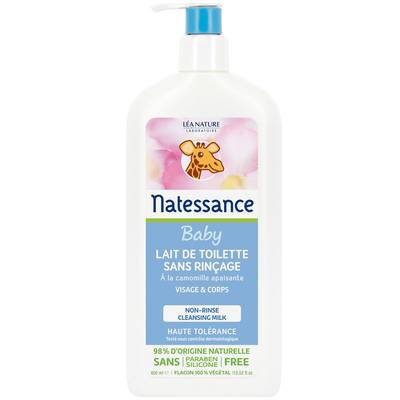 Lait de toilette sans rinçage - bébé naturel - Natessance - Bébé / Enfants
