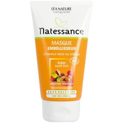 masque embelliseur argan, cheveux secs ou crépus - Natessance - Cheveux