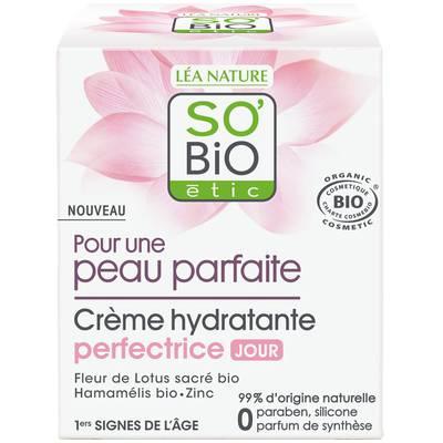 Crème hydratante perfectrice jour - Peau parfaite - So'bio étic - Visage