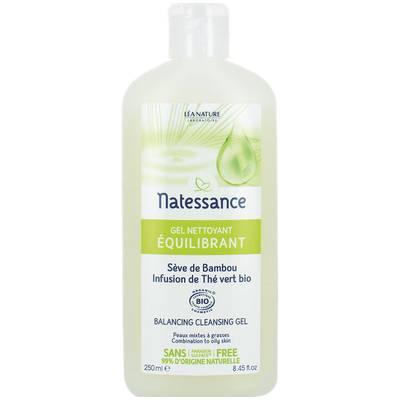 Gel nettoyant équilibrant - Sèves de beauté - Natessance - Visage