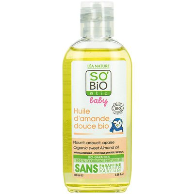 Almond oil - So'bio étic - Baby / Children - Massage and relaxation