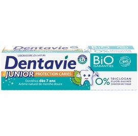 Dentrifrice Junior - dès 7 ans - Arôme naturel menthe douce - Dentavie - Hygiène