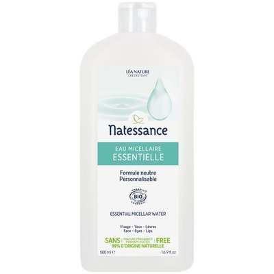 The essentials - micellar water - Natessance - Face