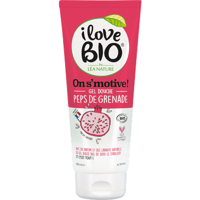 Gel Douche Peps de Grenade - On s'motive ! - I Love Bio by Léa Nature - Hygiène