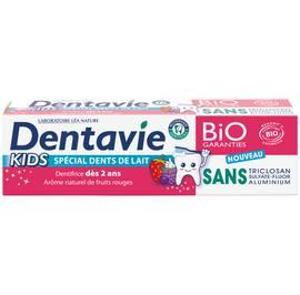 image produit Dentifrice kids - dès 2 ans - arôme naturel fruits rouges