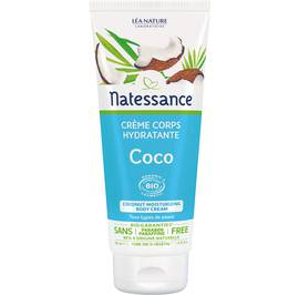 Coconut moisturizing body cream - Natessance - Body