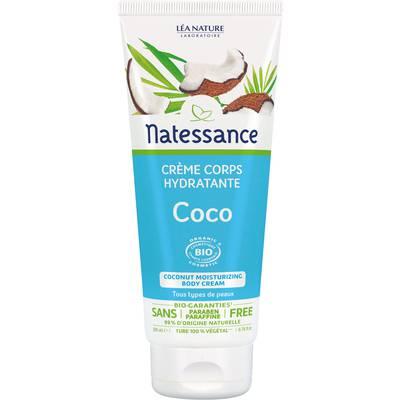 Coconut moisturizing body cream - Natessance - Body