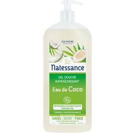 Refreshing coconut water shower gel - Natessance - Hygiene