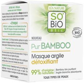 Detoxifying clay mask - Pur Bamboo - So'bio étic - Face