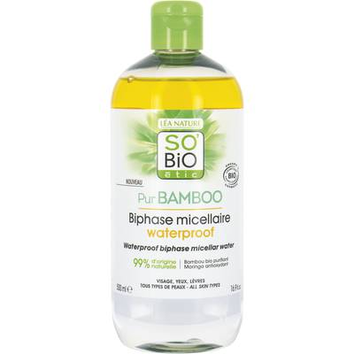 Biphase micellaire waterproof - Pur Bamboo - So'bio étic - Visage