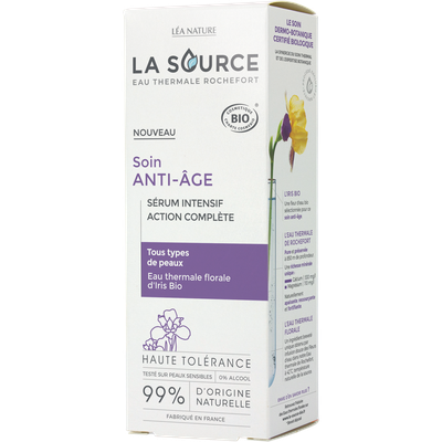 Complete action intense serum - ageing care - La Source - Eau Thermale Rochefort - Face