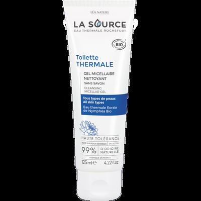 Gel micellaire nettoyant - Toilette thermale - La Source - Eau Thermale Rochefort - Visage