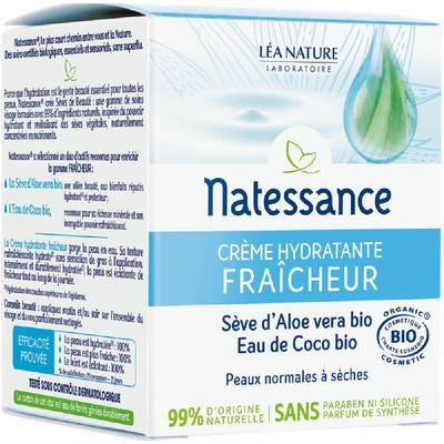Crème hydratante Fraîcheur - Sèves de Beauté - Natessance - Visage