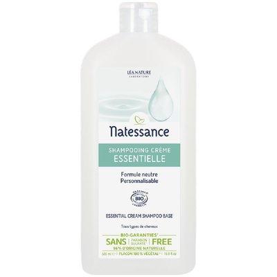 Shampooing crème - Les Essentielles - Natessance - Cheveux