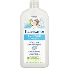 Extra-gentle coconut shampoo - Natessance - Hair