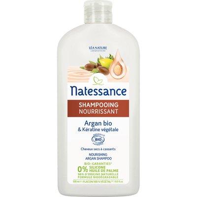 Shampooing Nourrissant - argan bio & kératine végétale - Natessance - Cheveux