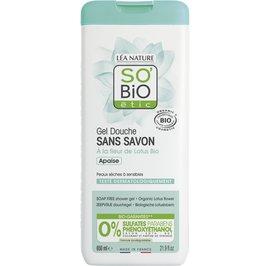 Soap free shower gel - Organic Lotus flower - So'bio étic - Hygiene