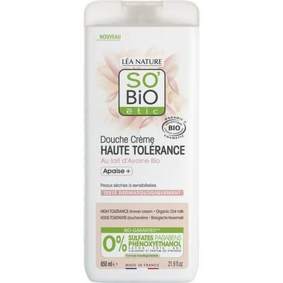 Douche Crème Haute Tolérance - Au lait d'Avoine Bip - So'bio étic - Hygiène