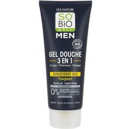 Shower gel - Organic ginger - So'bio étic - Hygiene