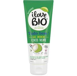 Green coco shower gel - I Love Bio by Léa Nature - Hygiene